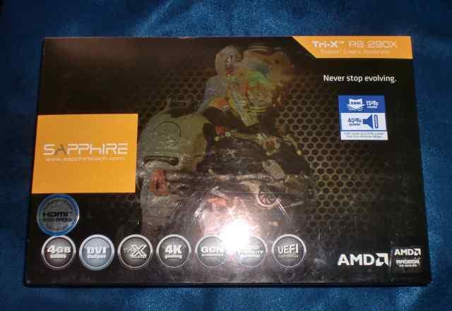 Sapphire Tri-X R9 290X AMD radeon R9 series