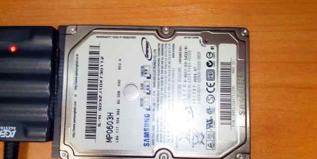 HDD Samsung mp0603h