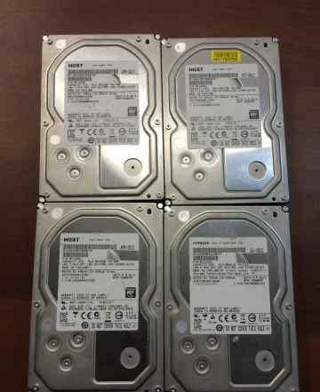 4 жестких диска Hitachi hgst на 4 Тб