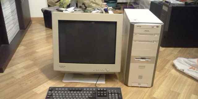 Компьютер Asus для дома и офиса с монитором