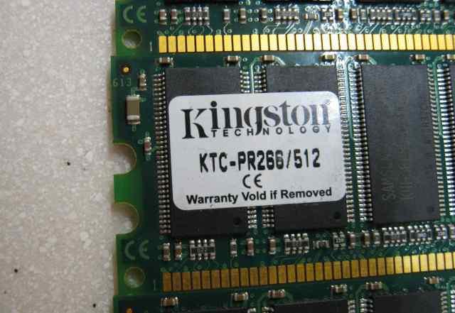 Kingston KTC-D320/512 и KTC-PR266/512