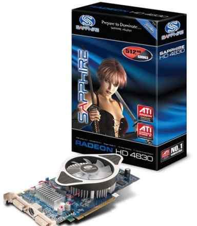 Radeon HD 4830 512mB gddr3 PCI-E dual DVI-I/TVO