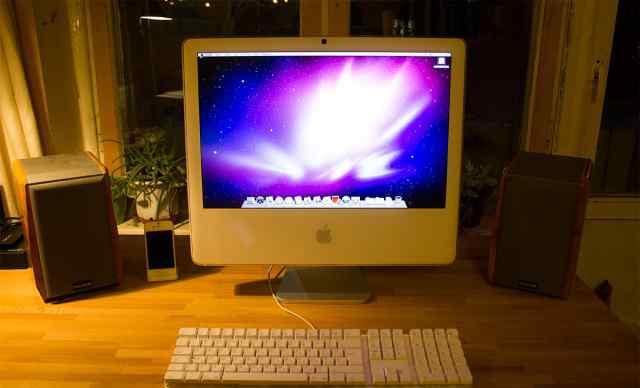 iMac 20 inch с клавиатурой в идеальном состоянии
