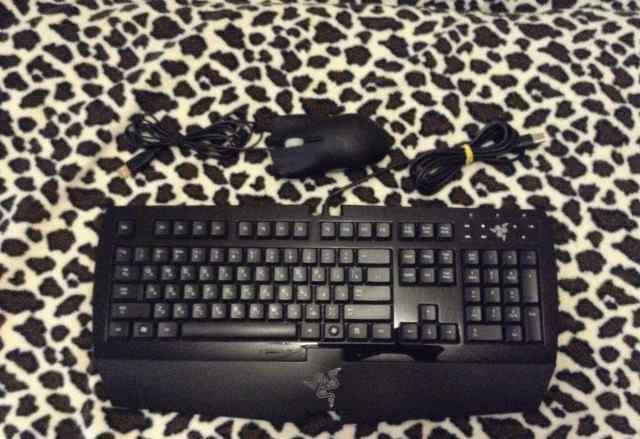 Razer Lachesis мышка и клавиатура razer arctosa