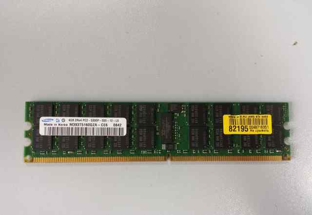 Samsung DDR-II dimm 4Gb ECC M393T5160QZA-CE6