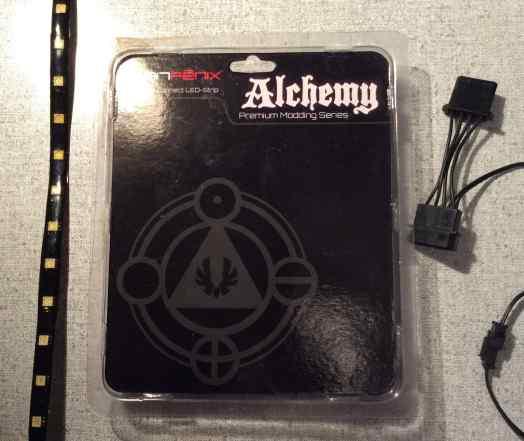 Светодиодная лента BitFenix Alchemy LED 60см blue