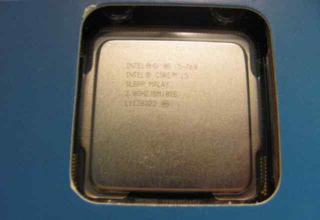 Intel Core i5-760 (2.8 GHz, 8Mb, LGA1156)