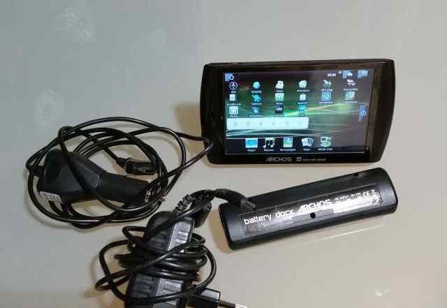 Archos 5 32gb + Battery Dock AV/S-video usb host