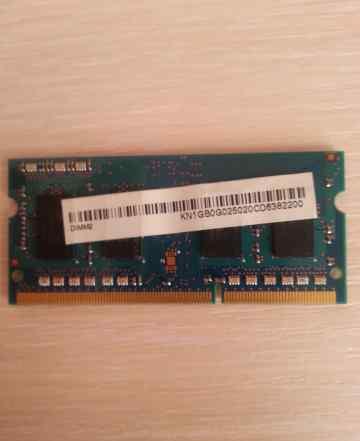1 GB SO-dimm PC3-8500