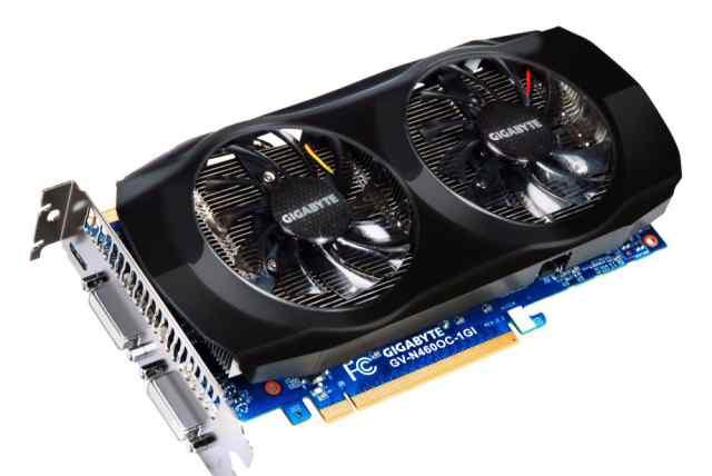Gigabyte GeForce GTX 460 (GV-N460OC-768)