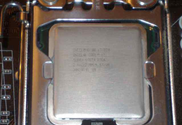 Intel Core i7 920 Bloomfield D0