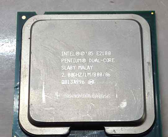 CPU Intel Pentium Dual-Core E2180 2.0 GHz