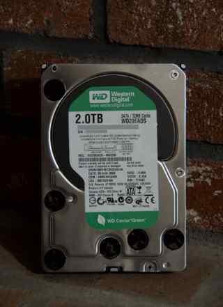 Жесткий диск 2тб Western Digital WD20eads 2Tb