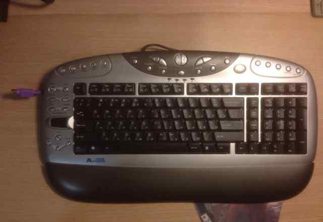 Проводная Anti-RSI клавиатура A4 Tech KBS-26