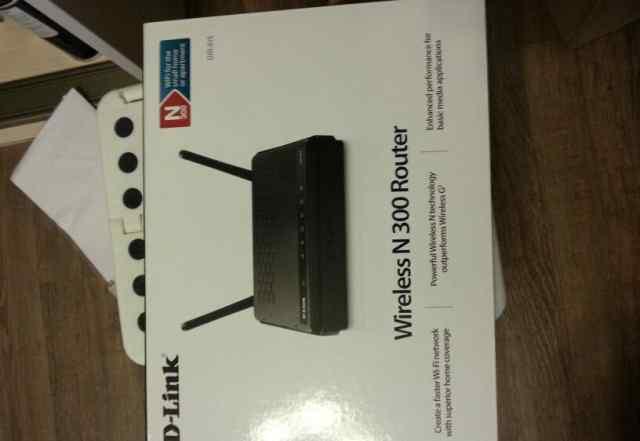 Wifi-роутер d-link n300