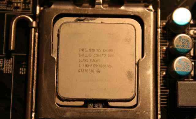 DualCore Intel Core 2 Duo E4500, 2200 MHz