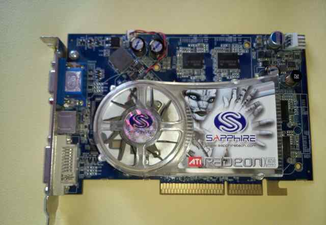 Ati Radeon Sapphire X1650 Pro 256M ggdr3 AGP VGA