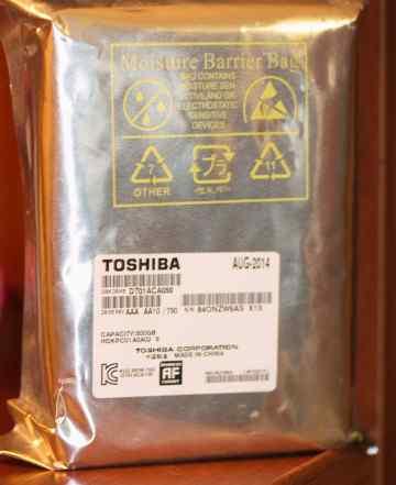 Жесткий диск SATA 500GB Toshiba DT01ACA050