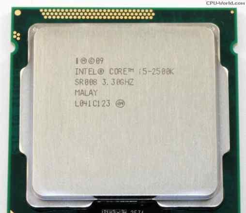 Процессор Intel core i5 2500k