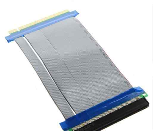 Райзер PCI-E X16 to X16, широкий, без питания