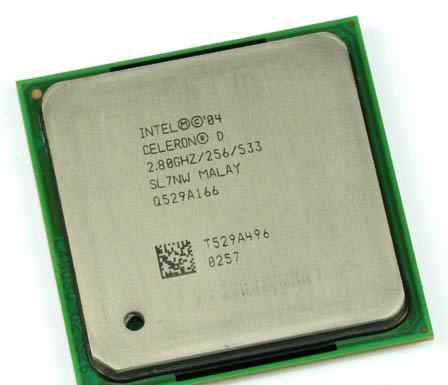 Intel Celeron D 335 Prescott 2.8GHz. Зеленоград
