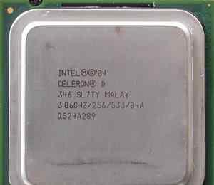 Intel Celeron D 346 3.06GHz. Зеленоград