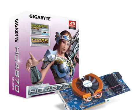 Gigabyte HD4870 1GB 256bit (GV-R487D5-1GD)