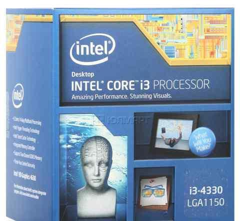 Процессор Intel Core i3-4330 BOX 3.5 ггц