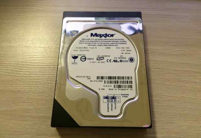 HDD IDE 40GB Maxtor DiaimondMax Plus