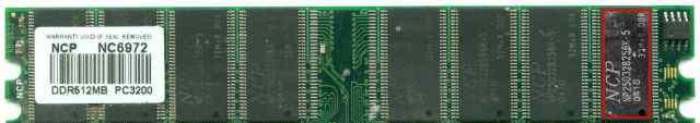 Оперативная память ncp np25d328256k-5 pc3200