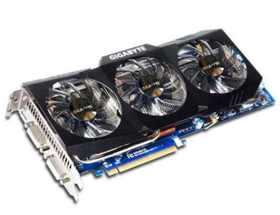 Видеокарта gigabyte GeForce GTX 470, GV-N470OC