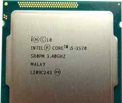 Intel core i5 3570 s1155
