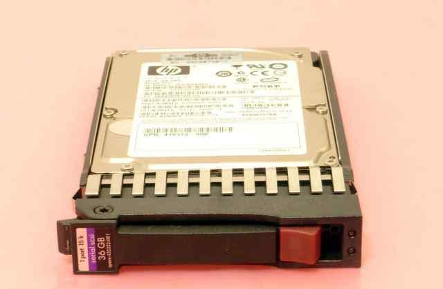 Жесткий диск HP 36GB 15K SAS 2.5 + корзина нр