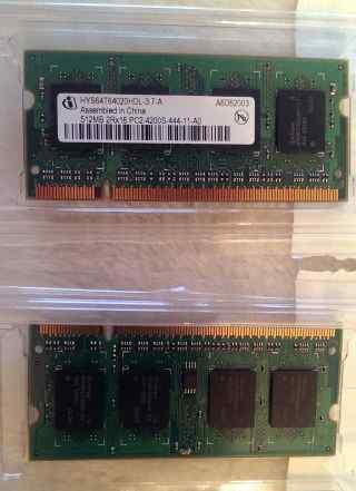 Для ноутбука DDR2 533 sodimm 1Gb PC2 4200s