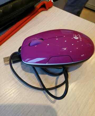 Logitech LS1 Laser Mouse Purple USB
