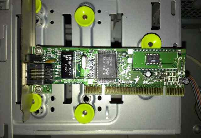 Сетевая плата PCI Realtek RTL8139C Fast Ethernet