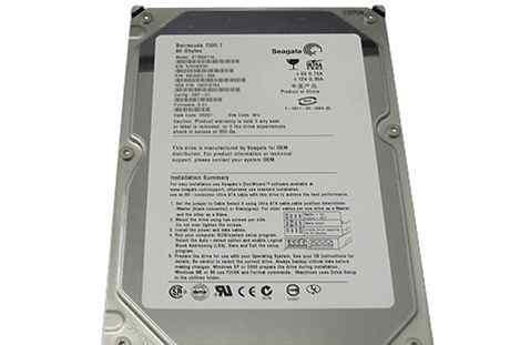 IDE 80Гб Seagate ST380011A
