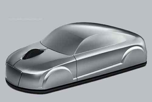 Мышь Ауди тт мышка Audi TT беспроводная