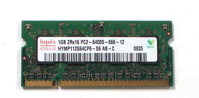 Оперативная память для ноутбука hynix 1 гб