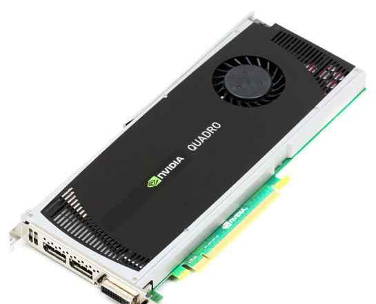 Видеокарта nvidia Quadro 4000