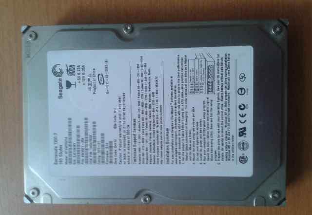 Жёсткий диск Seagate 160 Gbytes 7200