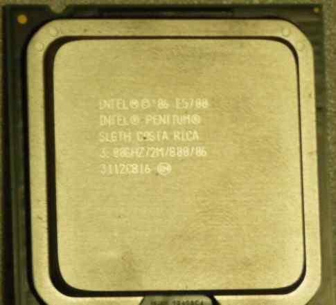 Intel Pentium Dual-Core E5700 3000MHz LGA 775