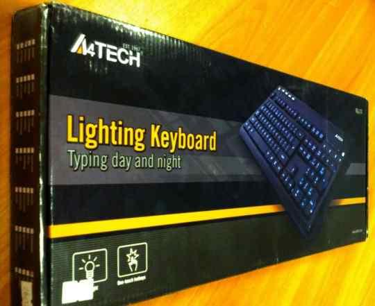 Клавиатура со светящимися клавишами A4tech KD-126