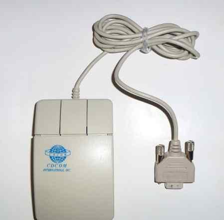 Мышь 3-кнопочная COM cdcom модель 260