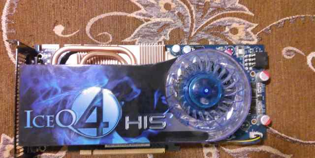 HIS HD 4850 IceQ 1GB 4 (256bit) gddr3 PCIe