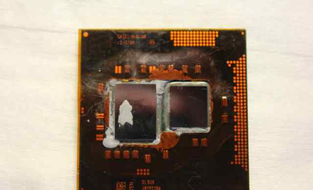 Процессор intel core i3-370m для ноутбука