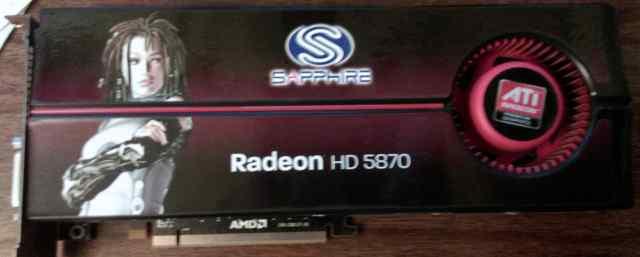 Видеокарта Sapphire Radeon HD 5870