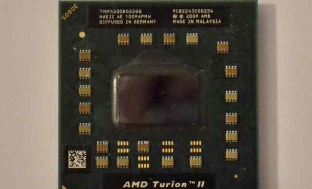 Cpu 2core AMD Turion II TMM520DB022GQ