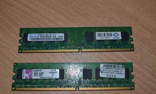DDR2 2Gb (2х1Гб) 533MHz