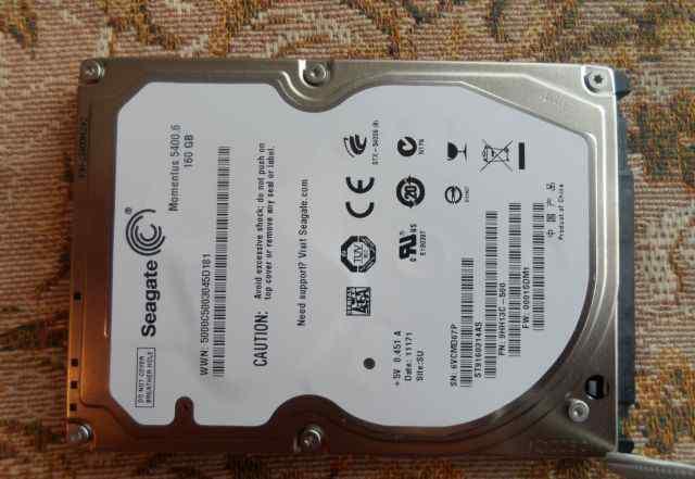 HDD 160 Gb, Segate, sata